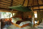 Semi open en- suite accommodation at Mkhaya