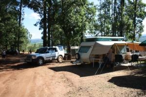 Camping at Mlilwane