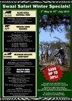 Big Game Parks Winter Specials