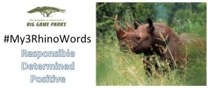 #My3RhinoWords - FB