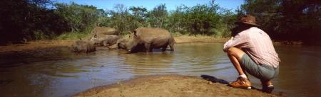 Mkhaya rhino Photography